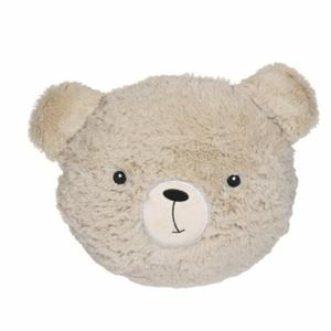Chlupatý polštářek Sweetie pr. 27 cm, medvídek