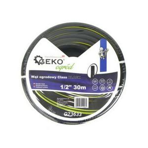 "GEKO Zahradní hadice černá, 1/2"", 30 m"