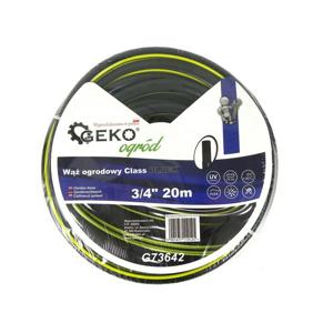 "GEKO Zahradní hadice černá, 3/4"", 20 m"