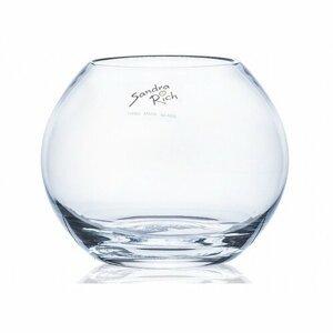 Skleněná váza Globe, 12 x 10 cm