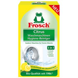 Frosch EKO Hygienický čistič pračky Citrón, 250 g