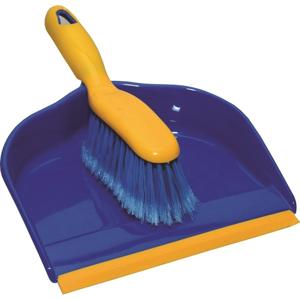 Smetáček a lopatka s gumovou lištou DELUX