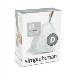 Sáčky do odpadkového koše 20 L, Simplehuman typ D, zatahovací, 3 x 20 ks ( 60 sáčků ) CP