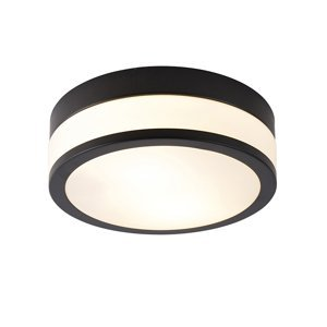 Klasické stropní svítidlo černé 28 cm - Flavi
