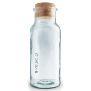 Karafa s korkovým špuntem z recyklovaného skla 1l Eva Solo