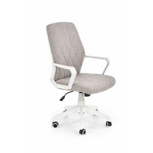 Halmar Konferenční židle Spin 2 béžová/bílá