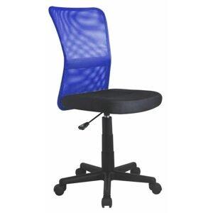 Dětská síťovaná židle Dingo, modrá/černá