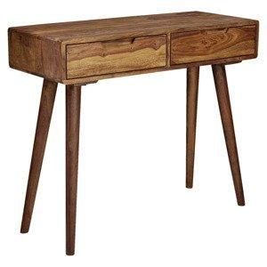 Stolek Z Masivního Dřeva Konsolentisch Š: 90cm