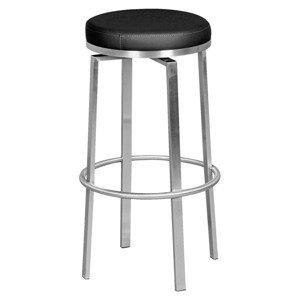 Barová Židle Barhocker Černá Otočná