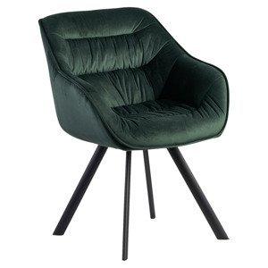 Židle S Područkami Wohnling Zelená