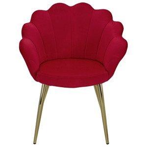 Židle S Područkami Červená
