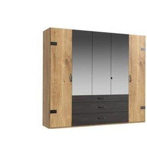 Šatní skříň Detroit Šířka 250cm