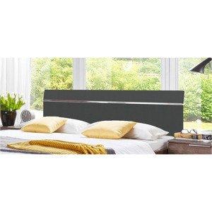 Záhlaví Level Beds B Pro Š. 180cm, Grafit/chrom