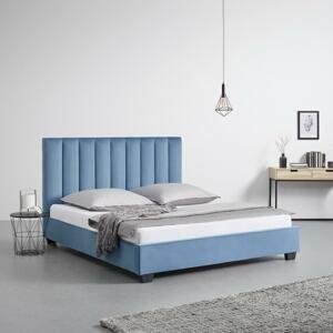 postel Clara Modrá 180x200 Cm