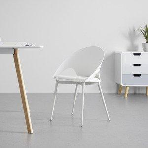Jídelní Židle Dori Bílá