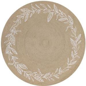 Koberec Tkaný Na Plocho Matea, P: 100cm, Světlohnědá