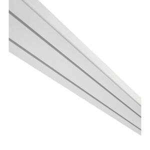 kolejnička na Závěsy Amelie, 250cm, Bílá