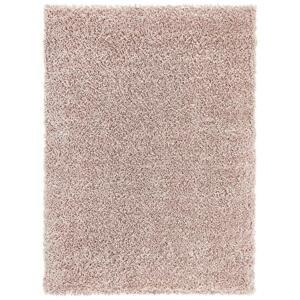 koberec s Vysokým Vlasem simon 1, 120/170cm, Růžová