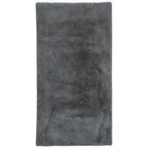 Umělá Kožešina Caroline 1, 80/150cm, Antracit