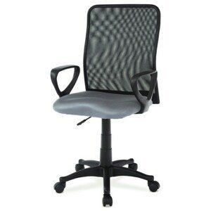 Sconto Kancelářská židle FRESH šedá/černá