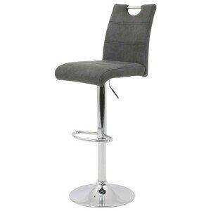 Sconto Barová židle MIRANDA H antracitová