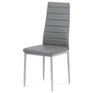 Sconto Jídelní židle FATIMA šedá