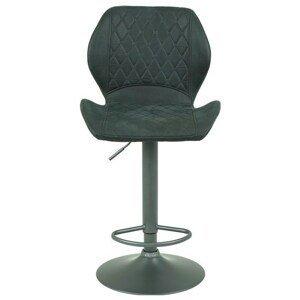 Sconto Barová židle SONJA H šedá