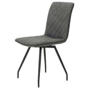 Sconto Jídelní židle TATJANA I S antracitová