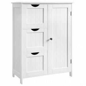 Sconto Koupelnová skříňka GORDES bílá