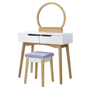 Sconto Toaletní stolek ESMEE dub/bílá