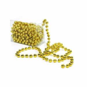 Dekorativní řetěz ve zlaté barvě Unimasa Balls, délka5m