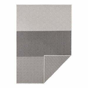 Béžovo-černý oboustranný venkovní koberec Bougari Borneo, 120 x 170 cm