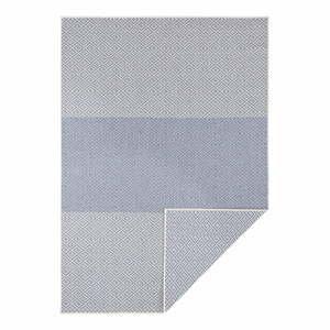 Modrý oboustranný venkovní koberec Bougari Borneo, 120 x 170 cm