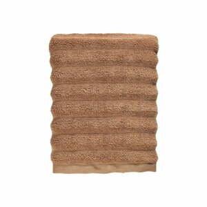 Jantarově hnědý ručník ze 100% bavlny Zone Prime Amber, 50x100cm