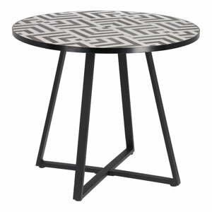 Zahradní jídelní stůl s keramickou deskou La Forma Tella, ⌀ 90 cm