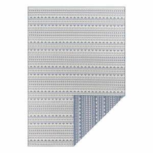 Modro-bílý venkovní koberec Ragami Kahira, 200 x 290 cm