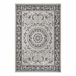 Černo-béžový venkovní koberec Ragami Prague, 200 x 290 cm