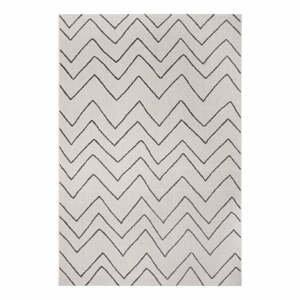 Černo-šedý venkovní koberec Ragami Lisbon, 200 x 290 cm