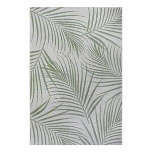 Zeleno-šedý venkovní koberec Ragami Flora, 200 x 290 cm