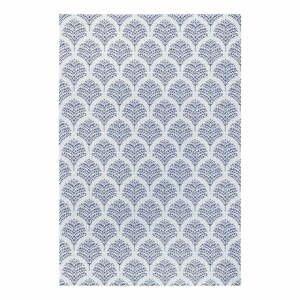 Modro-šedý venkovní koberec Ragami Moscow, 160 x 230 cm