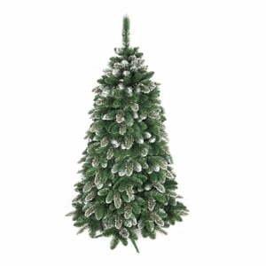 Umělý vánoční stromeček zasněžená borovice Vánoční stromeček, výška 180 cm