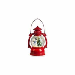 Červená vánoční světelná dekorace Markslöjd Lothar