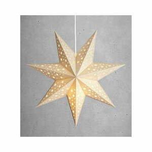 Vánoční závěsná světelná dekorace ve zlaté barvě Markslöjd Solvalla