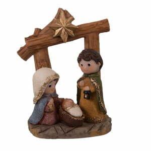 Betlémská vánoční dekorace Unimasa, výška 11,5 cm