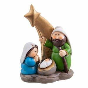 Betlémská vánoční dekorace Unimasa, výška 8,8 cm