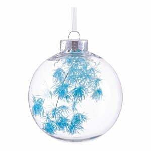 Vánoční ozdoba s tyrkysovými detaily Unimasa, ø 8 cm