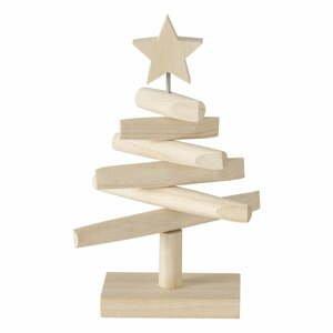 Dřevěný dekorativní vánoční stromeček Boltze Jobo, výška 26 cm