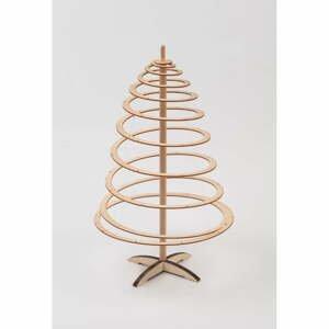 Dřevěný dekorativní vánoční stromek Spira Mini, výška 42 cm