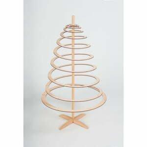 Dřevěný dekorativní vánoční stromek Spira Small, výška 85 cm