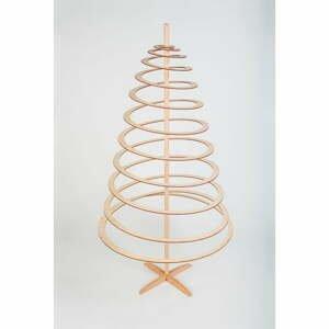 Dřevěný dekorativní vánoční stromek Spira Large, výška 138 cm
